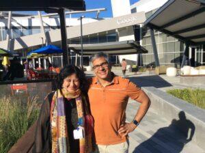 Dr Kiran at Google HQ