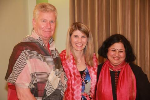 Asha bids farewell to Canadian High Commissioner HE Stewart Beck