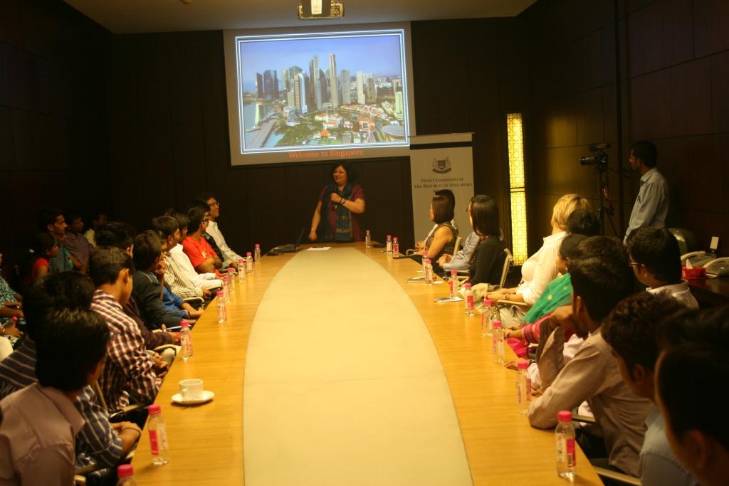 Dr Kiran addressing the gathering