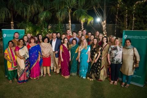 Irish Ambassador Hosts Dinner Reception for Asha Volunteers
