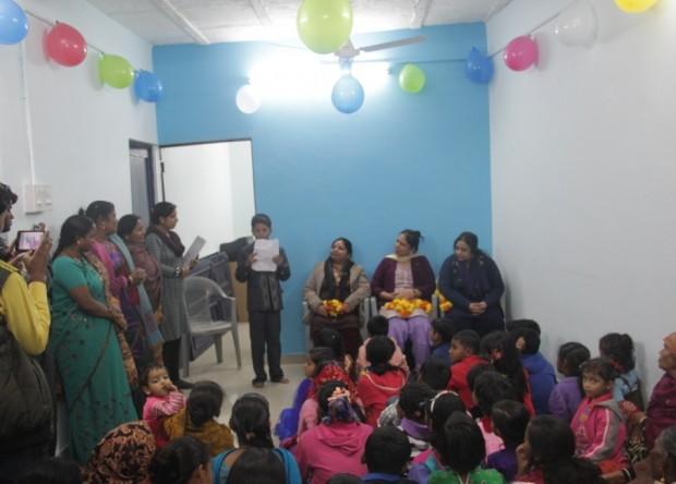 Asha Inaugurates newly refurbished centre at Anna Nagar slum colony