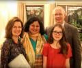 Asha bids adieu to Jill Sinclair