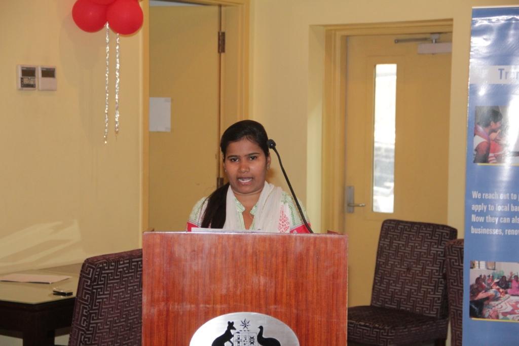 Kaushalya from Ekta Vihar slum colony speaks about her internship experiences over the past 2 years