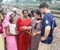 Australian Cricketer Ryan Carters visits Asha