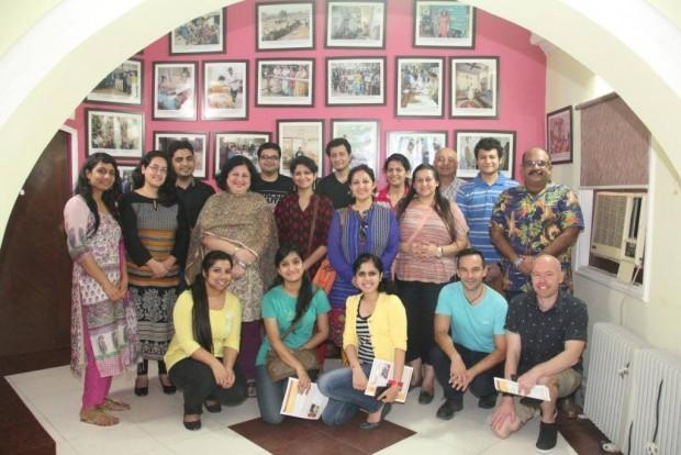 Macquarie Team visits Asha
