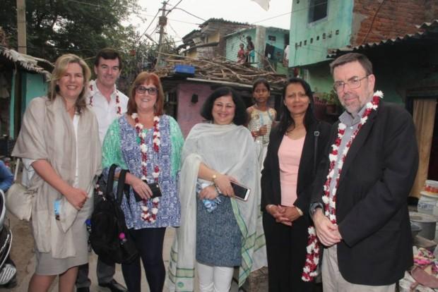 Australian delegates visit Asha