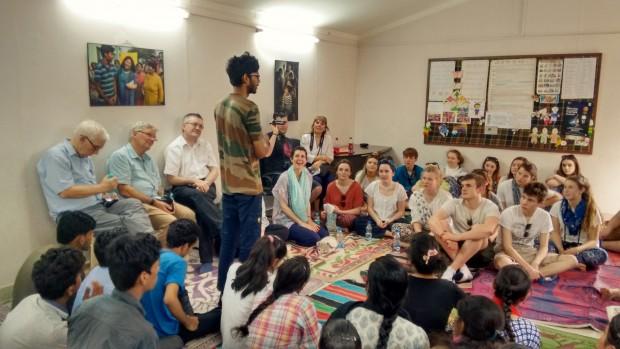 Gryphon School visits Asha