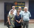 Asha welcomes volunteers from Yeovil, UK