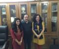 Dr Kiran's meeting with Dr Harshvardhan
