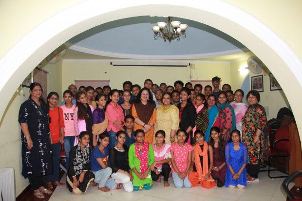 Dr Kiran Congratulates the Asha High School Toppers – Batch 2017