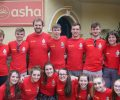 Royal School Armagh volunteers at Asha – 2017