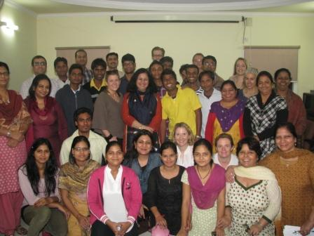 Dr Kiran Martin  and the Asha team with the Mentors and the Mentees