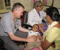 Dr Richard Hogben from the UK spends three weeks in slums
