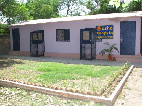 Asha Inaugurates New Portacabin in Kanak Durga Slum Colony