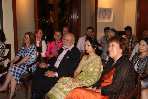 Dr. Kiran enthralls audience with Musical Performance at the Residence of New Zealand High Commissioner