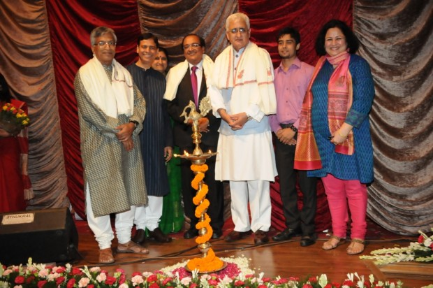 India's Minister for External Affairs, Mr. Salman Khurshid at Samaavesh, a cultural evening hosted by Asha