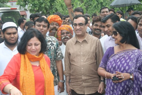 Member of Parliament Mr Ajay Maken visits Ekta Vihar