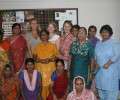 British Charity Committee Visits Kanak Durga Slum Colony