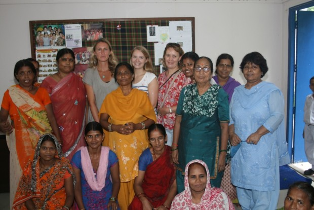British Charity Committee Visits Kanak Durga Slum Colony