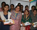 Asha Provides Help Books to High School Students