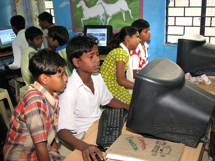 Adult in india literacy program