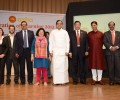 India's Cabinet Minister for Finance, Shri. P. Chidambaram at an Asha Event