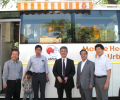 Delegation of Japanese Ministers visits Asha slums