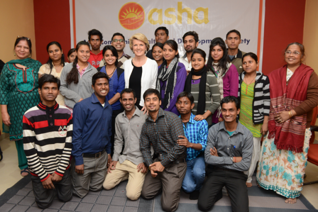Asha welcomes Australian Minister for Foreign Affairs, Ms. Julie Bishop MP