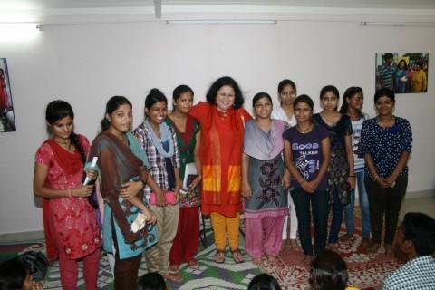 Asha Higher Education Programme: Review Meeting for graduates from slum communities