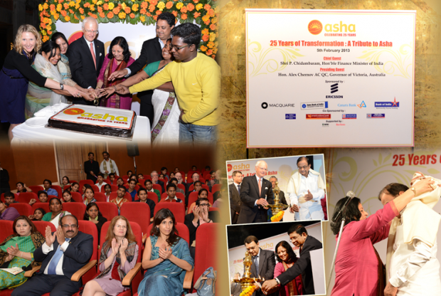 Celebrating 25 years: A Tribute to Asha