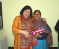 Felicitation programme for Asha's Community Health Volunteers