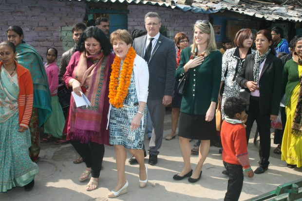 Canadian First Lady visits Asha