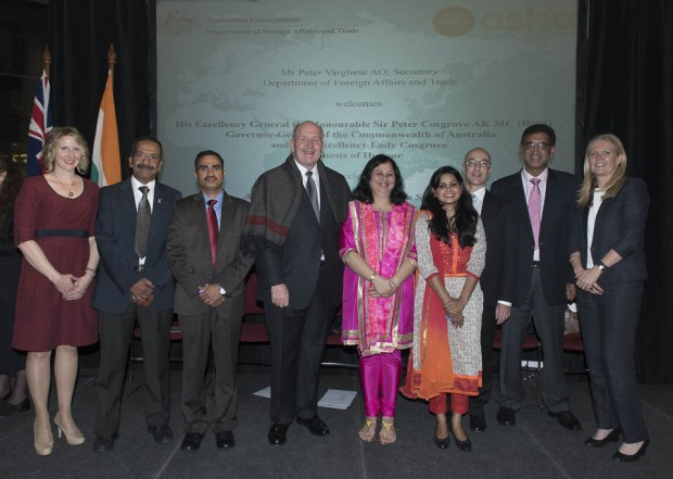 Dr Kiran and Asha honoured by the Australian Government