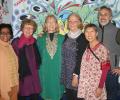 Team from California visits Tigri slum colony
