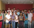 Harish Rao visits Asha slum with his team