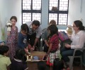 Children from the British High Commission Bring Gifts for Slum Children