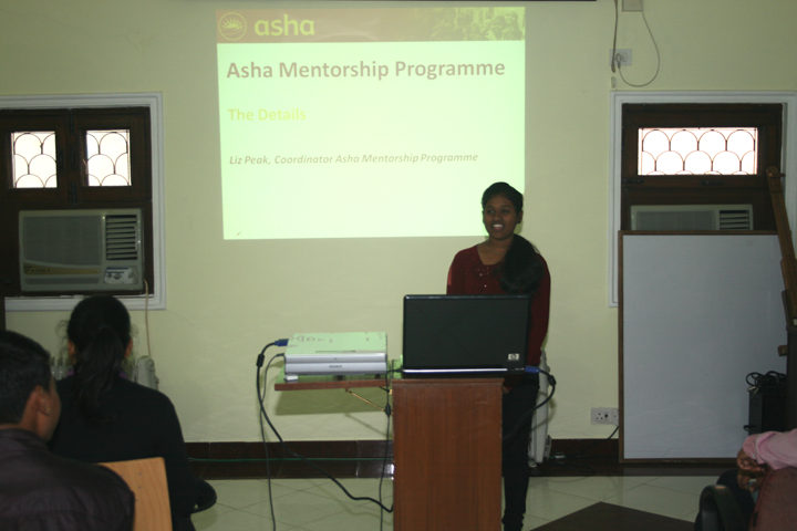 Savita, student from Kalkaji slum colony shares  the story of her higher education journey with Asha and her hopes expectation from the Mentorship Programme