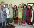 Team from Ireland visits Mayapuri slum colony