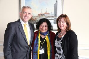 Dr Kiran calls on Junior Ministers at the Northern Ireland Assembly in Stormont