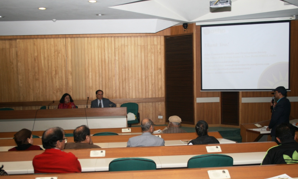 Dr Kiran Martin in a discussion with the audience