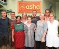 Team from Twickenham visits Asha