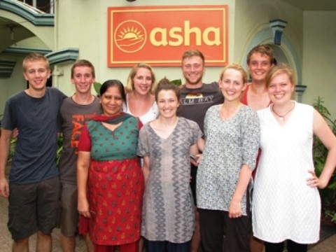 Team from Twickenham visits Asha