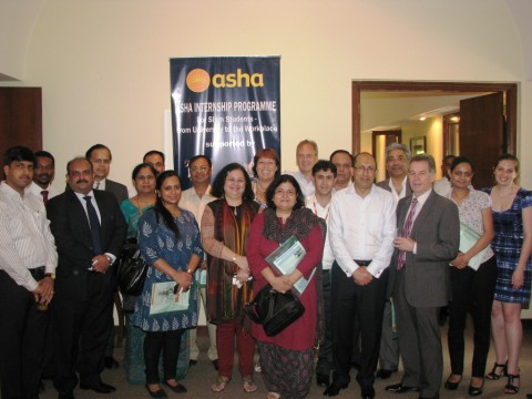 Launch of the Asha Internship Programme – From University to the Workplace