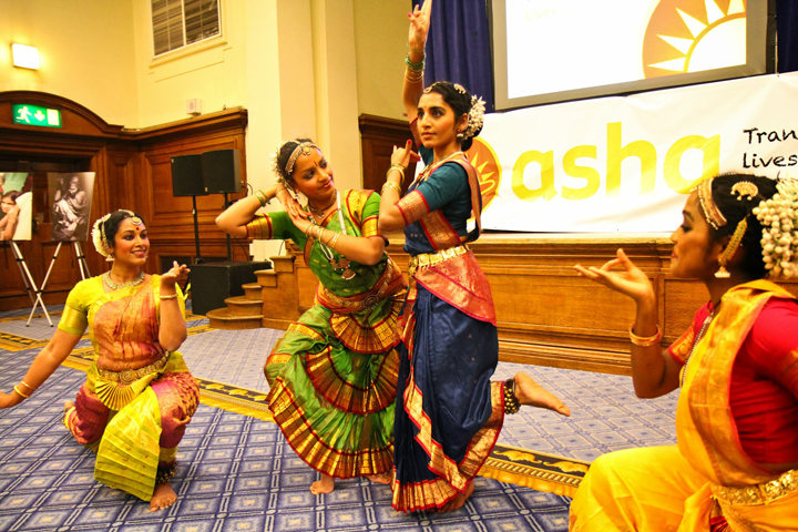 An Indian classical dance presentation during the event