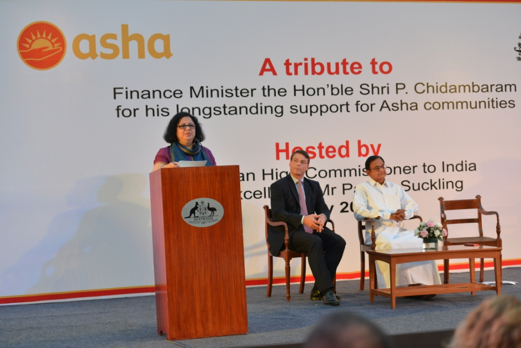 Dr Kiran announces the launch of Friends of Asha Delhi