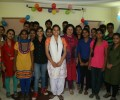 Dr Kiran Congratulates Toppers from Asha Communities