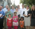 Nuffield International Farming Scholars visit Mayapuri slum colony