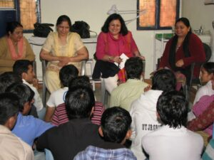 Dr Martin Counselling students 2012