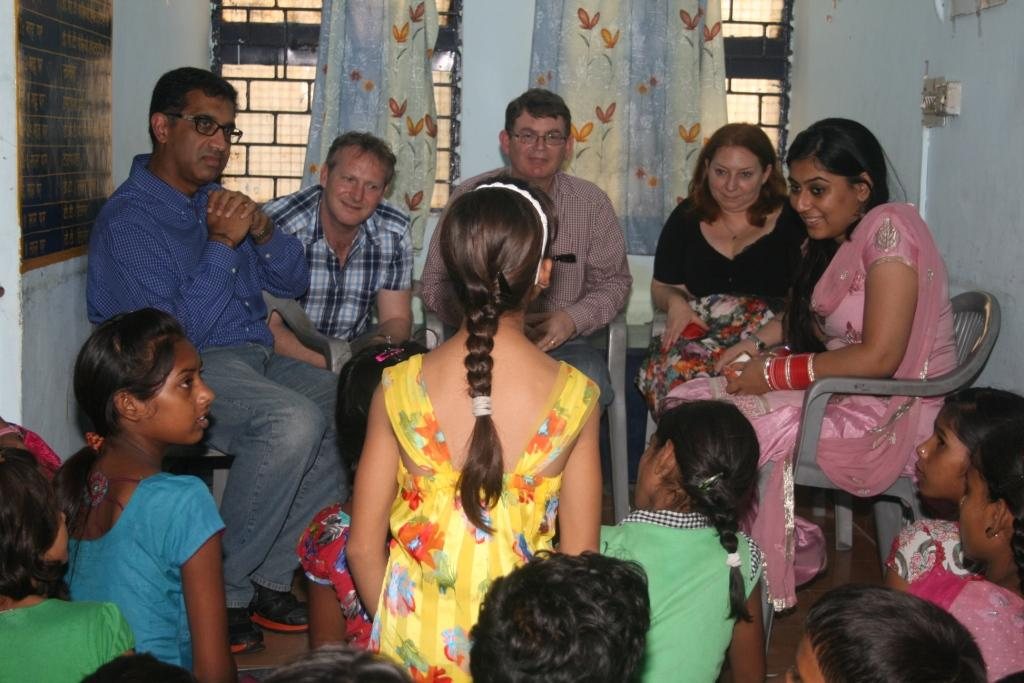 Interaction with the members of Children's association