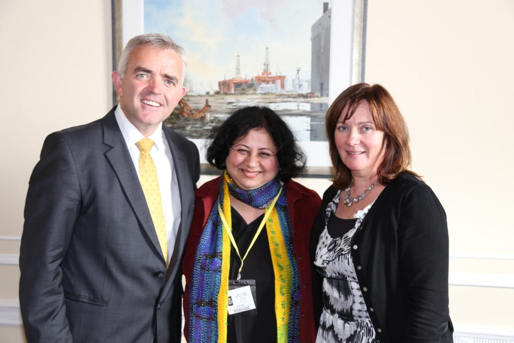 Dr Kiran had the privilege to call on Junior Ministers at the Northern Ireland Assembly in Stormont